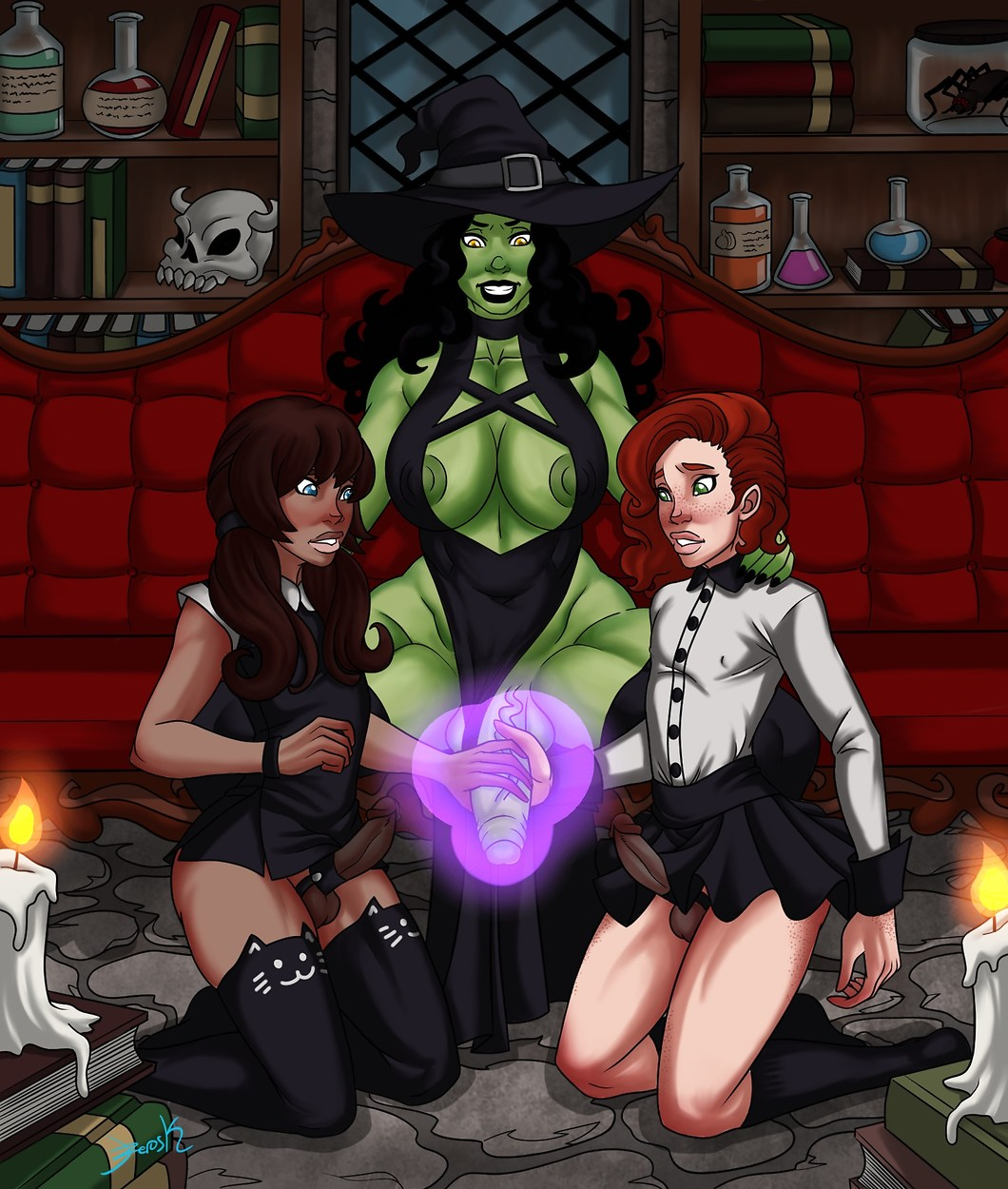 of porn cartoon wizard oz Trials in tainted space kiro