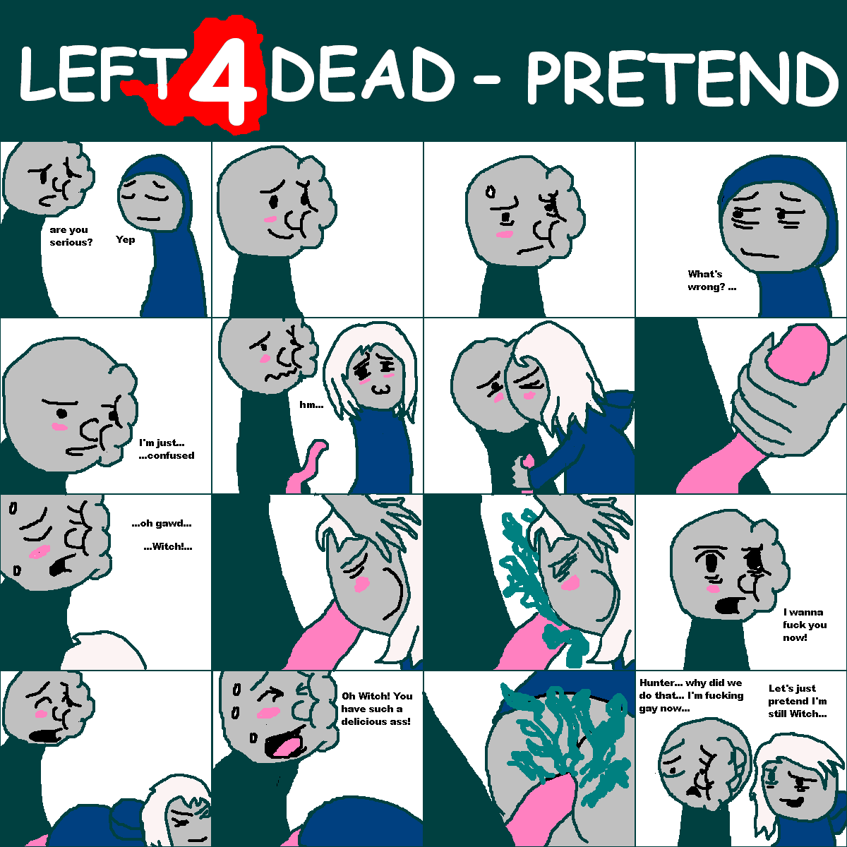 left 4 dead witch porn Red vs blue