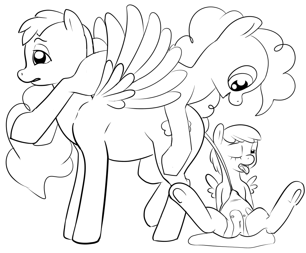 pinkie dash pie mlp rainbow and Vic reynolds f is for family