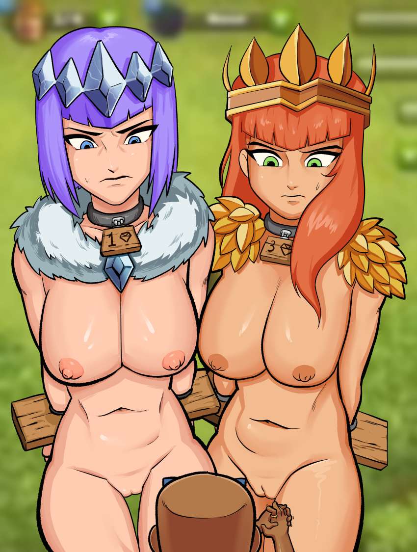 vs clash of lords of clans clash Living with hipstergirl and gamergirl erika english