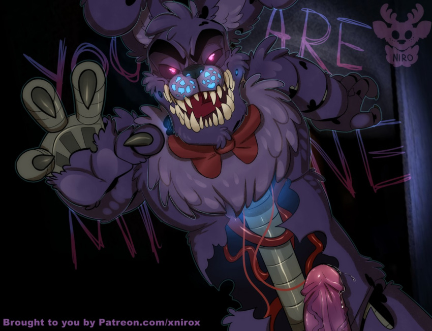 how to draw nightmare fnaf My little pony equestria girls