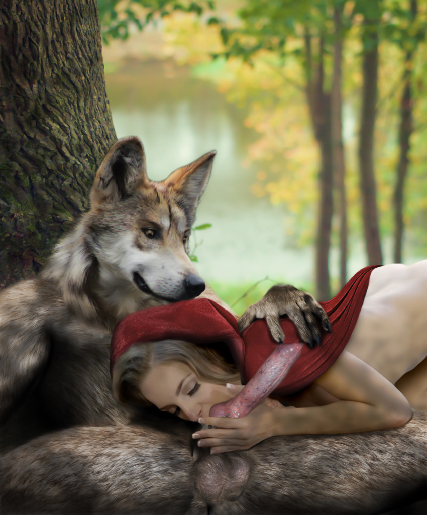 wolf vore red hood riding Rise of the tomb raider ana