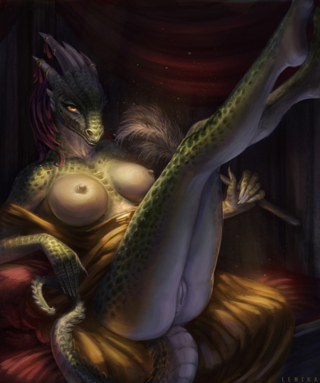 argonian maid lusty the comic Fgo mysterious heroine x alter